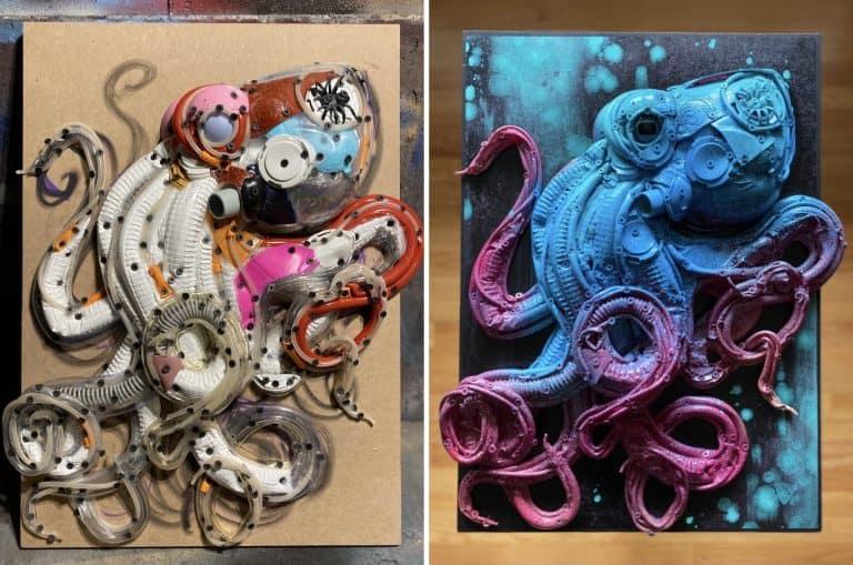 Artist Spotlight Of Week: Stephanie Hongo (a.k.a. Sugarfox)
