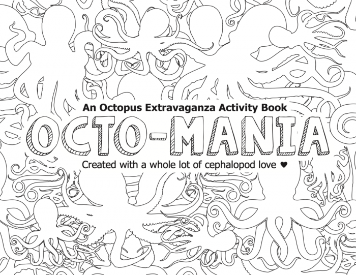 Octopus Activity Book for Kids
